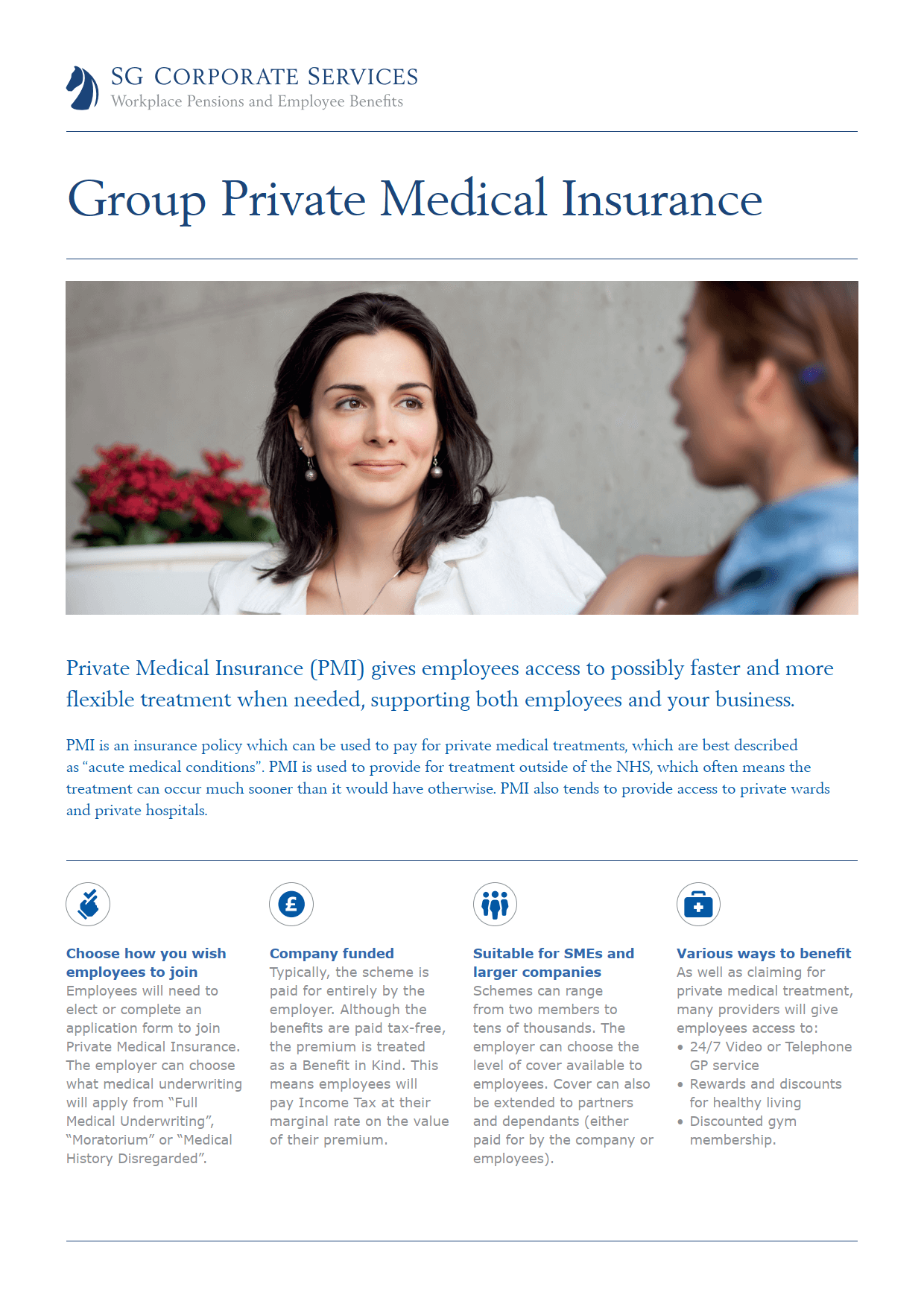 Product Guide - Group Private Medical Insurance