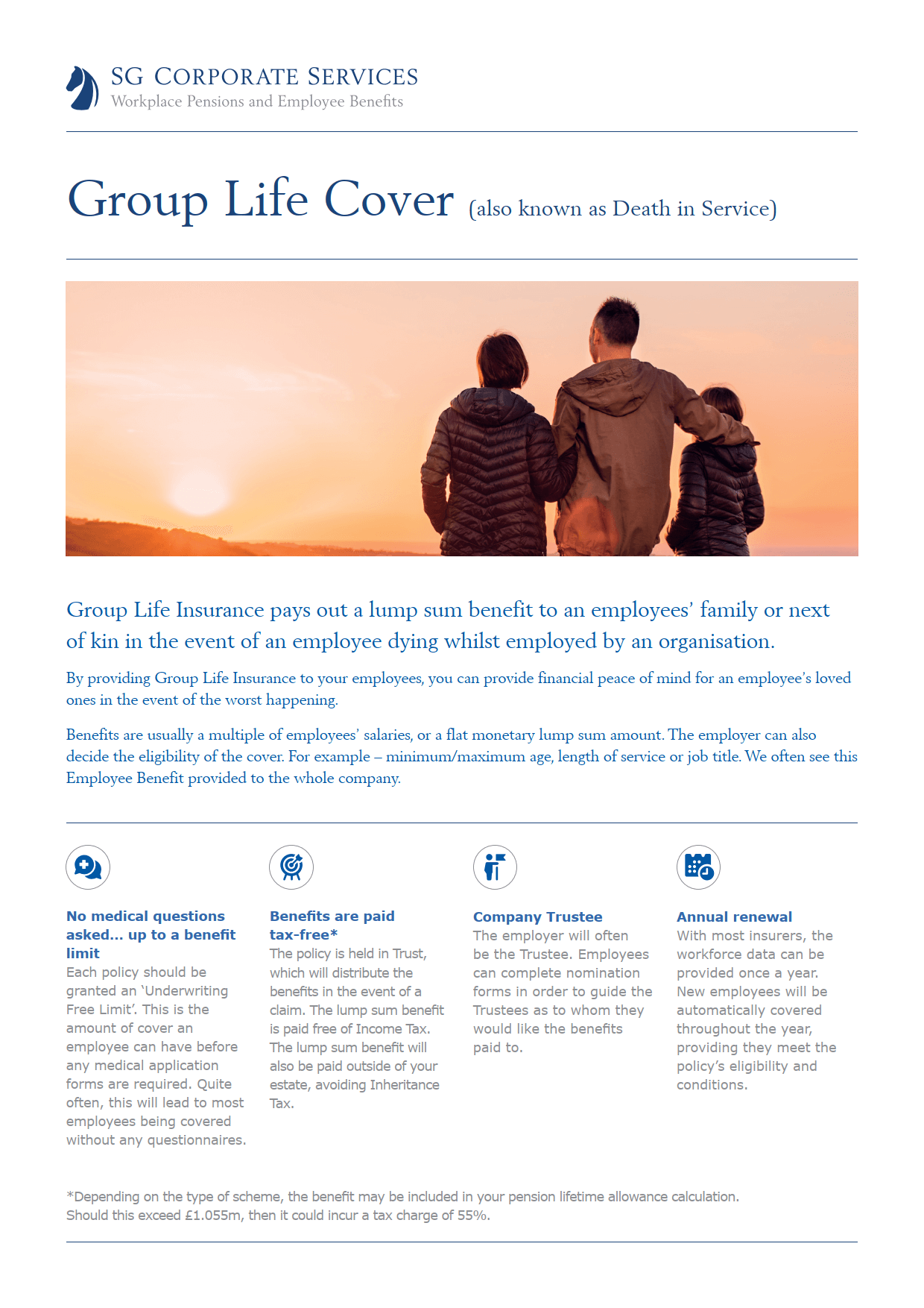 Product Guide - Group Life Cover