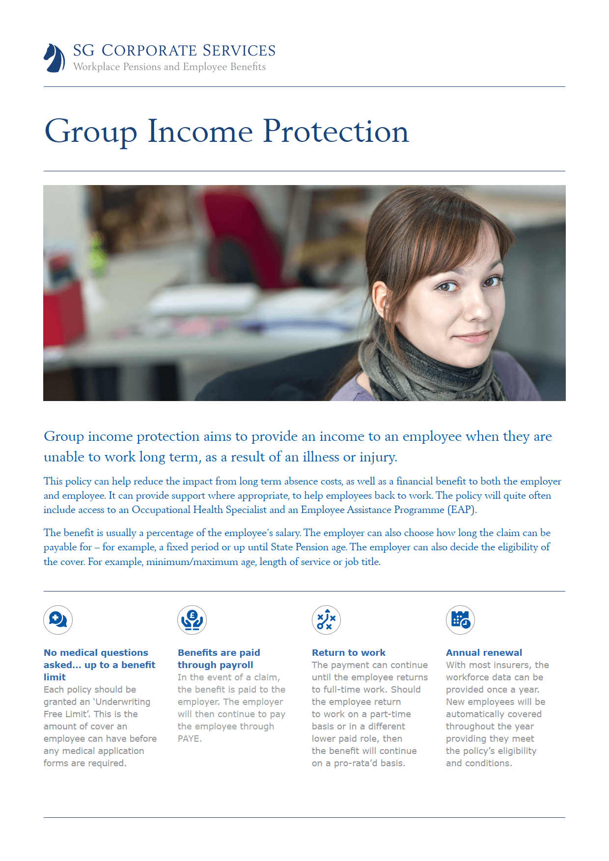 Product Guide - Group Income Protection