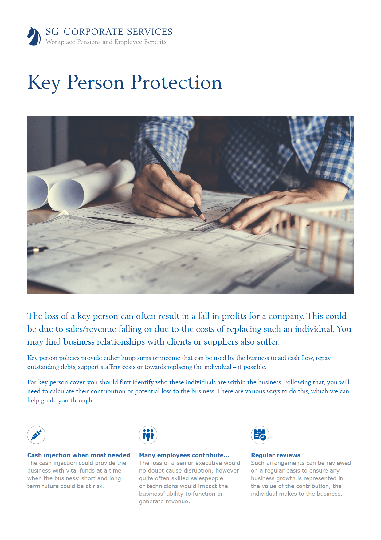 Product Guide - Key Person Protection