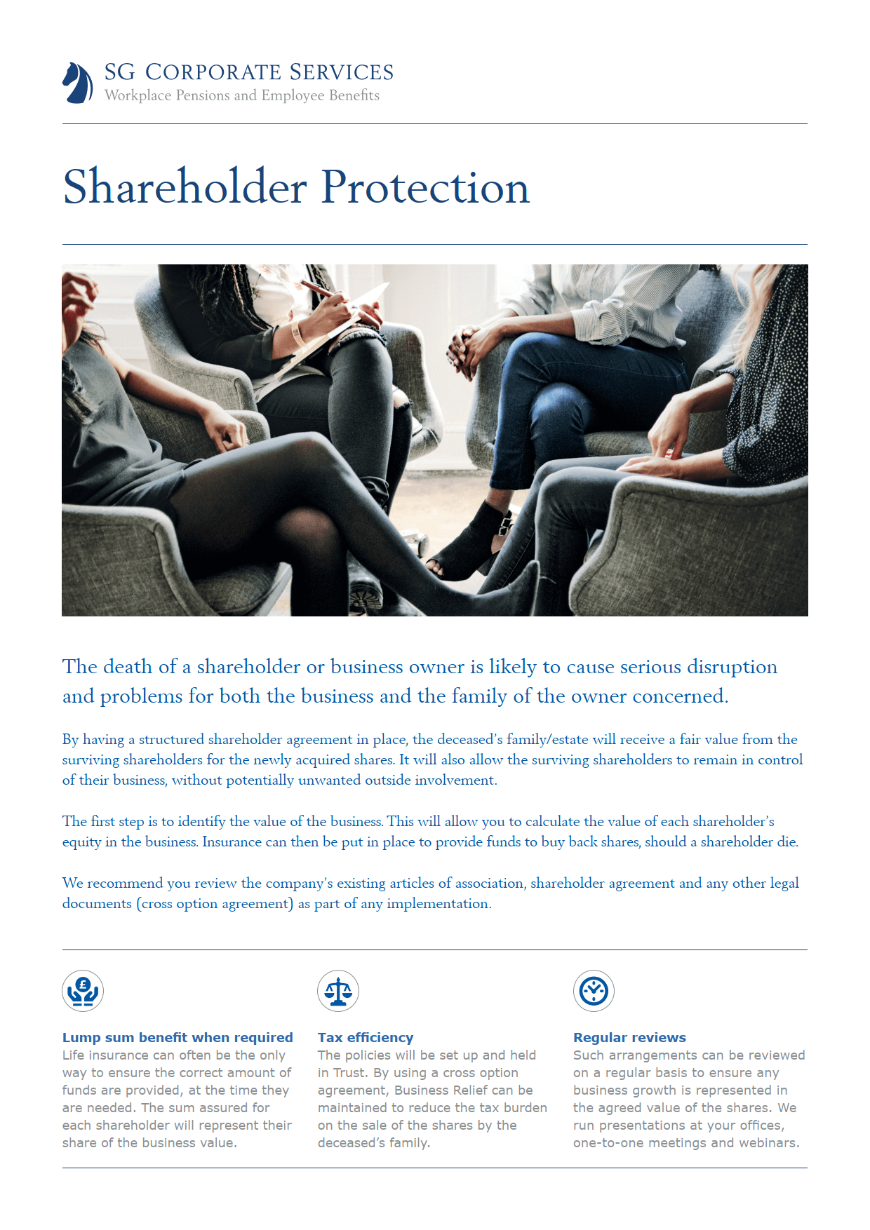 Product Guide - Shareholder Protection