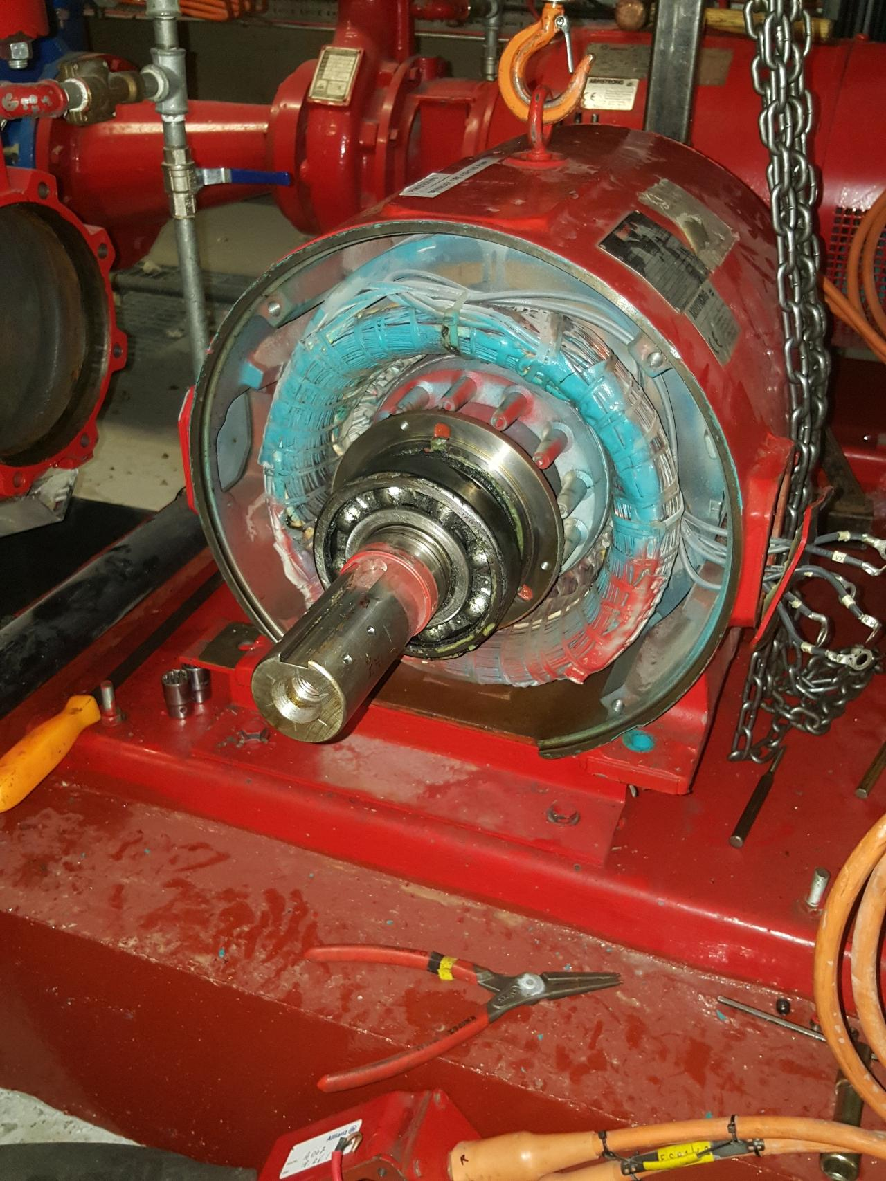 Motor Pump Maintenance image