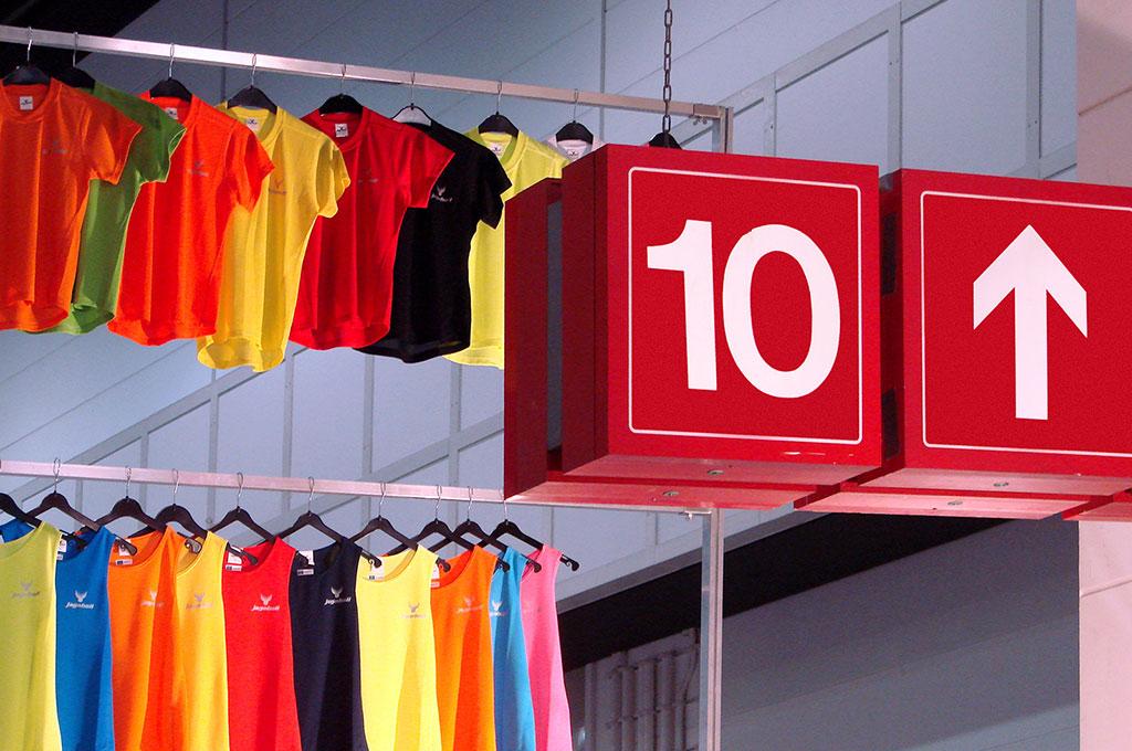 Number ten clothes hangers