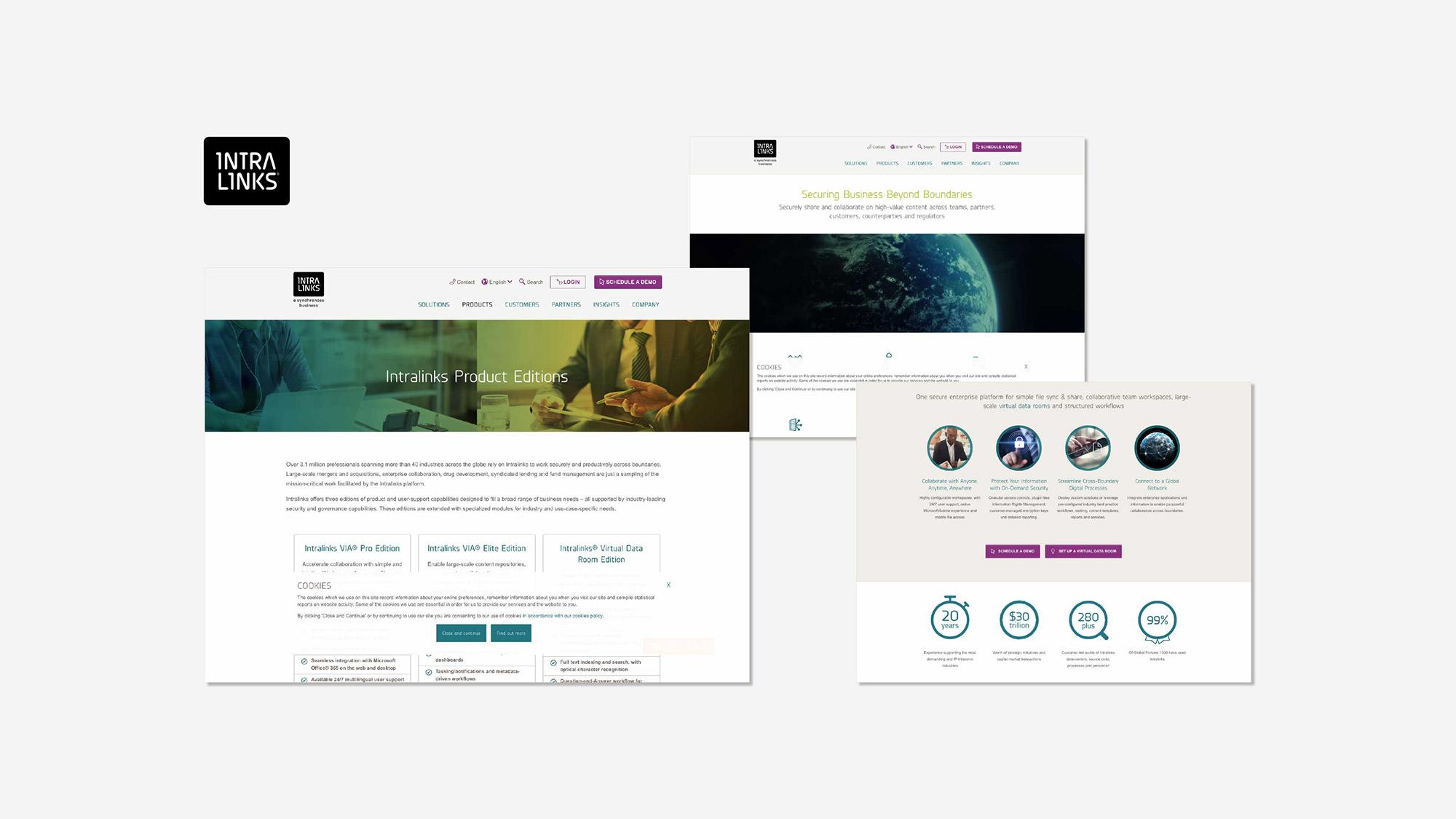 old website intralinks
