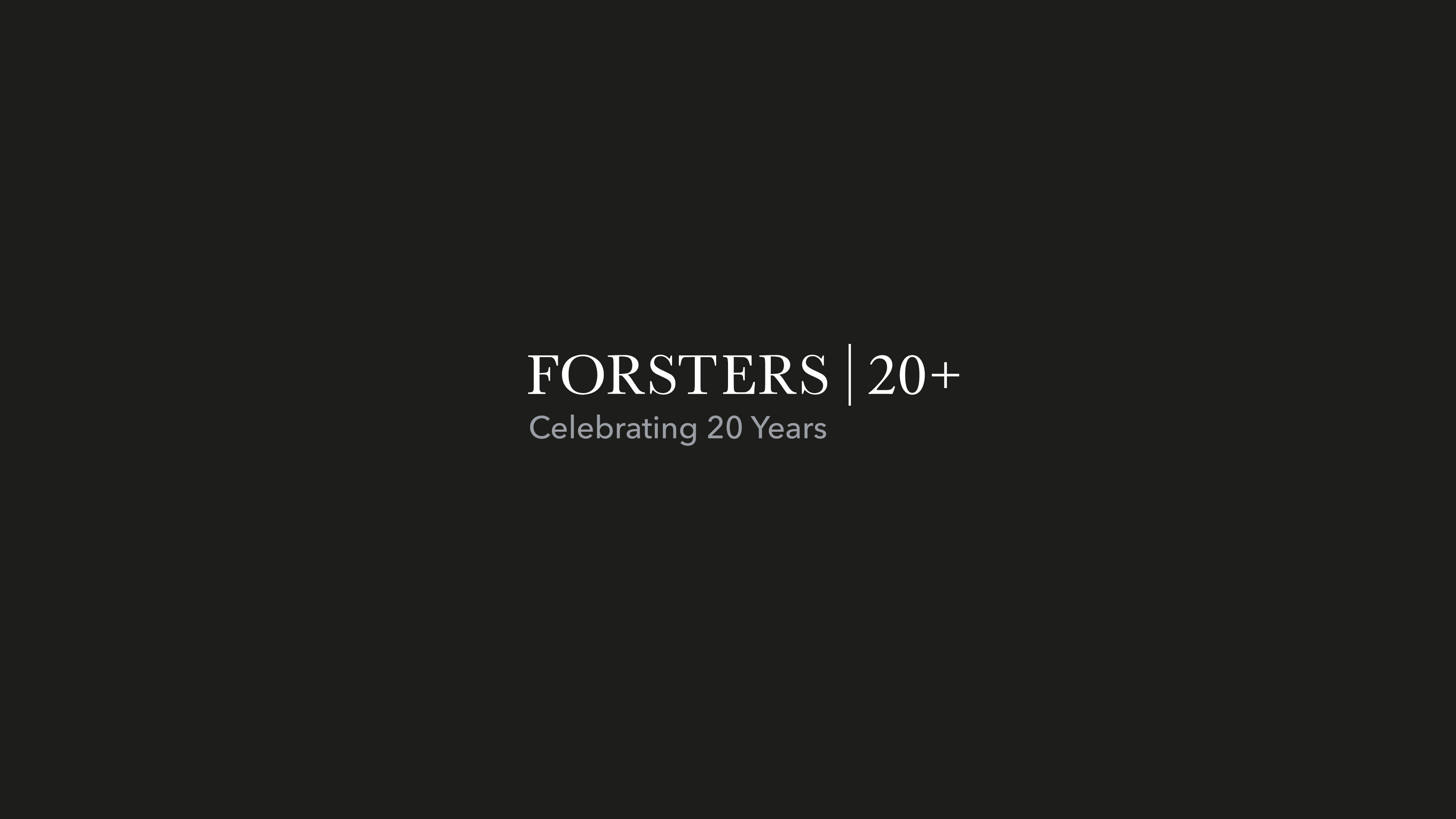 Brand logotype Forsters