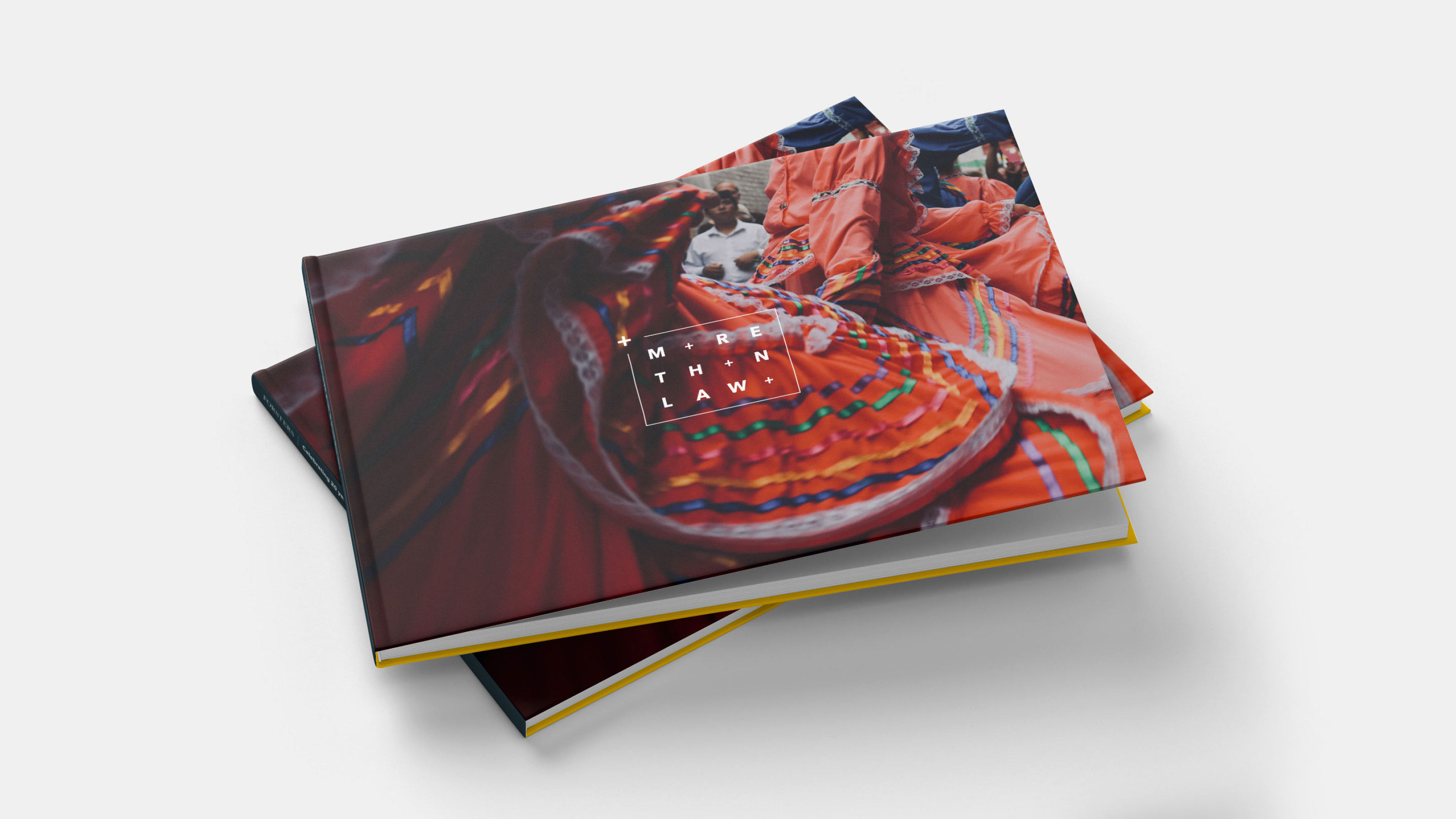 Brand book design Forsters