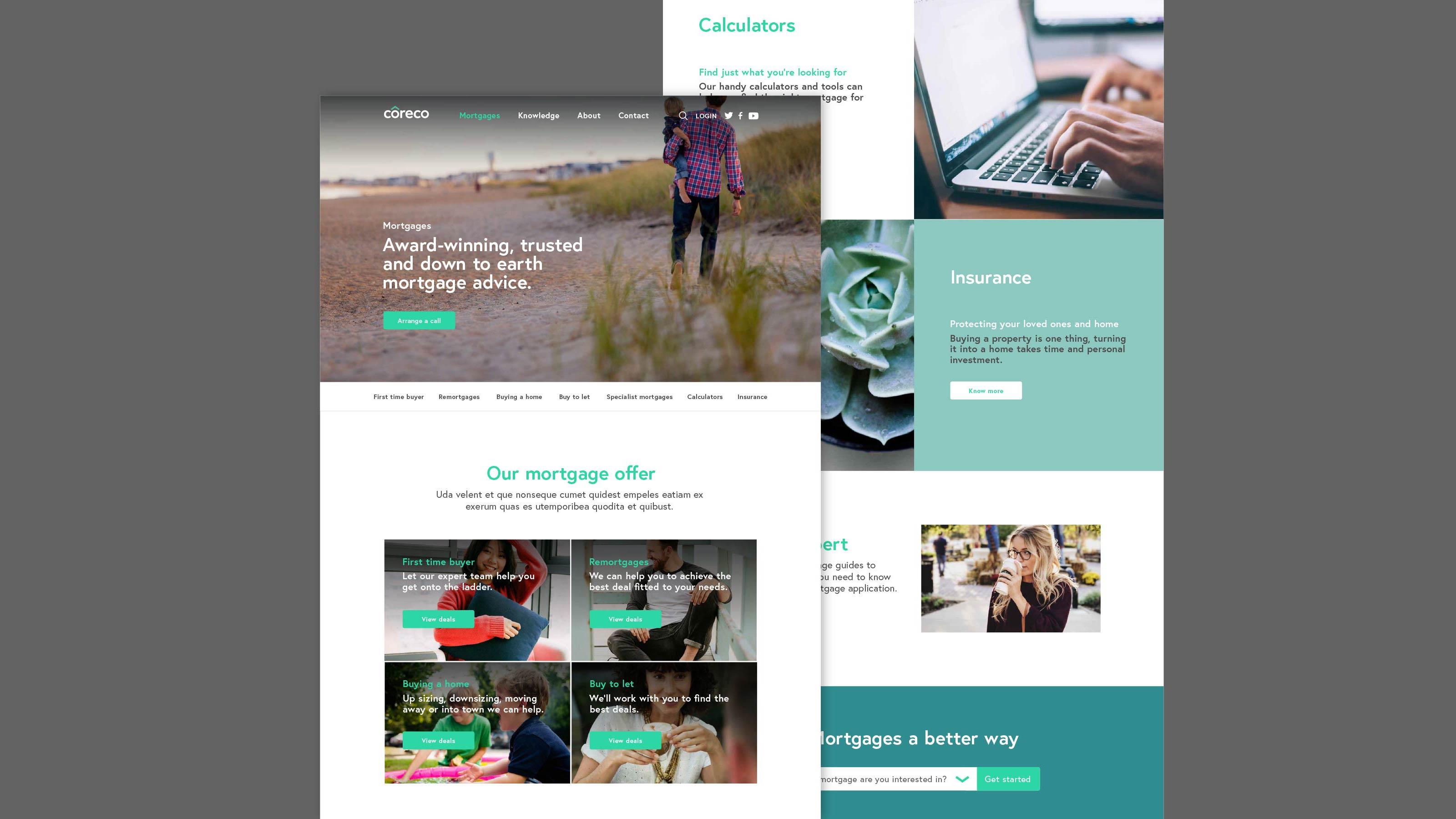 Digital web design Coreco