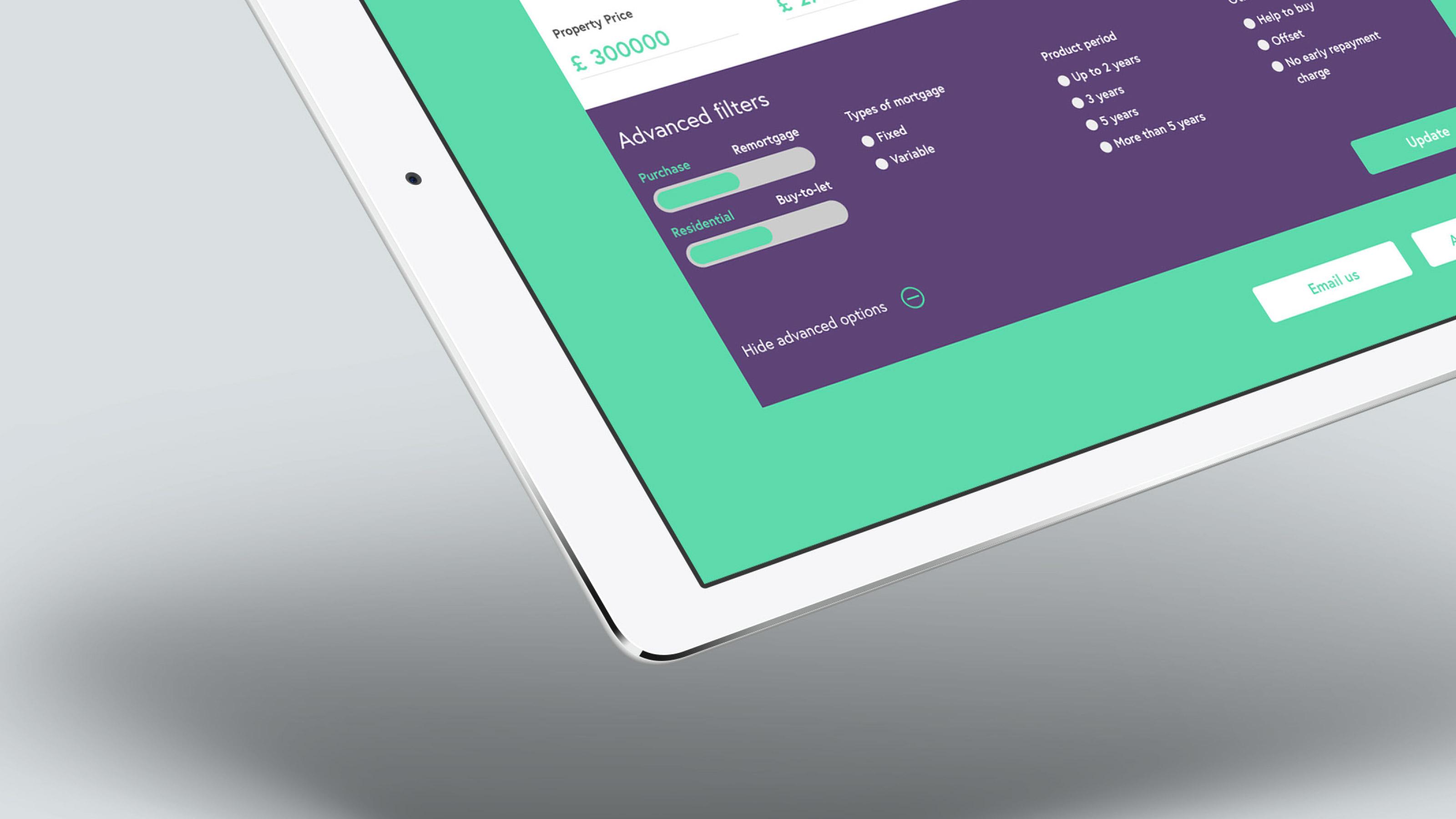 Digital tablet design elements Coreco