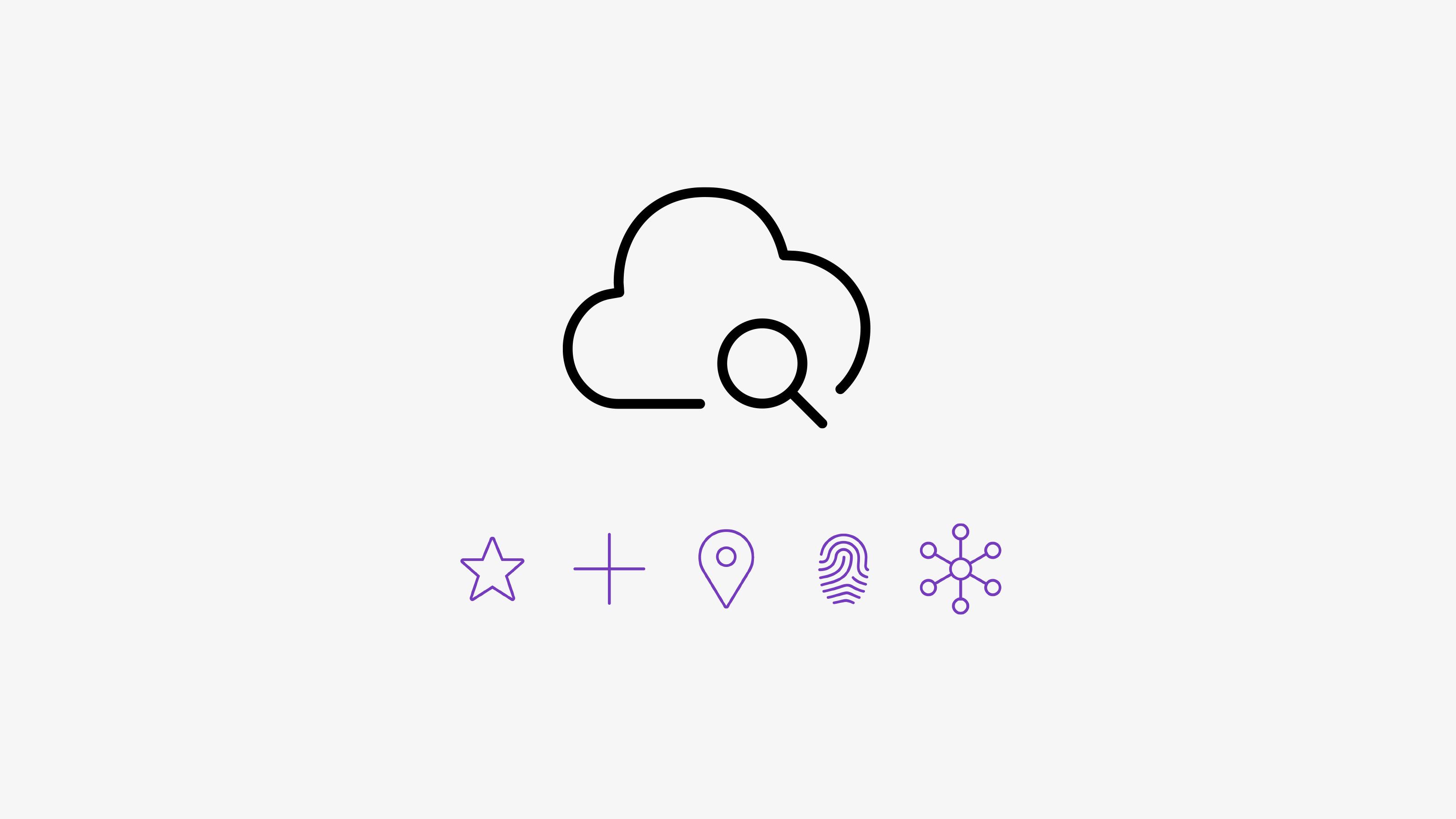 Intralinks Brand icons design