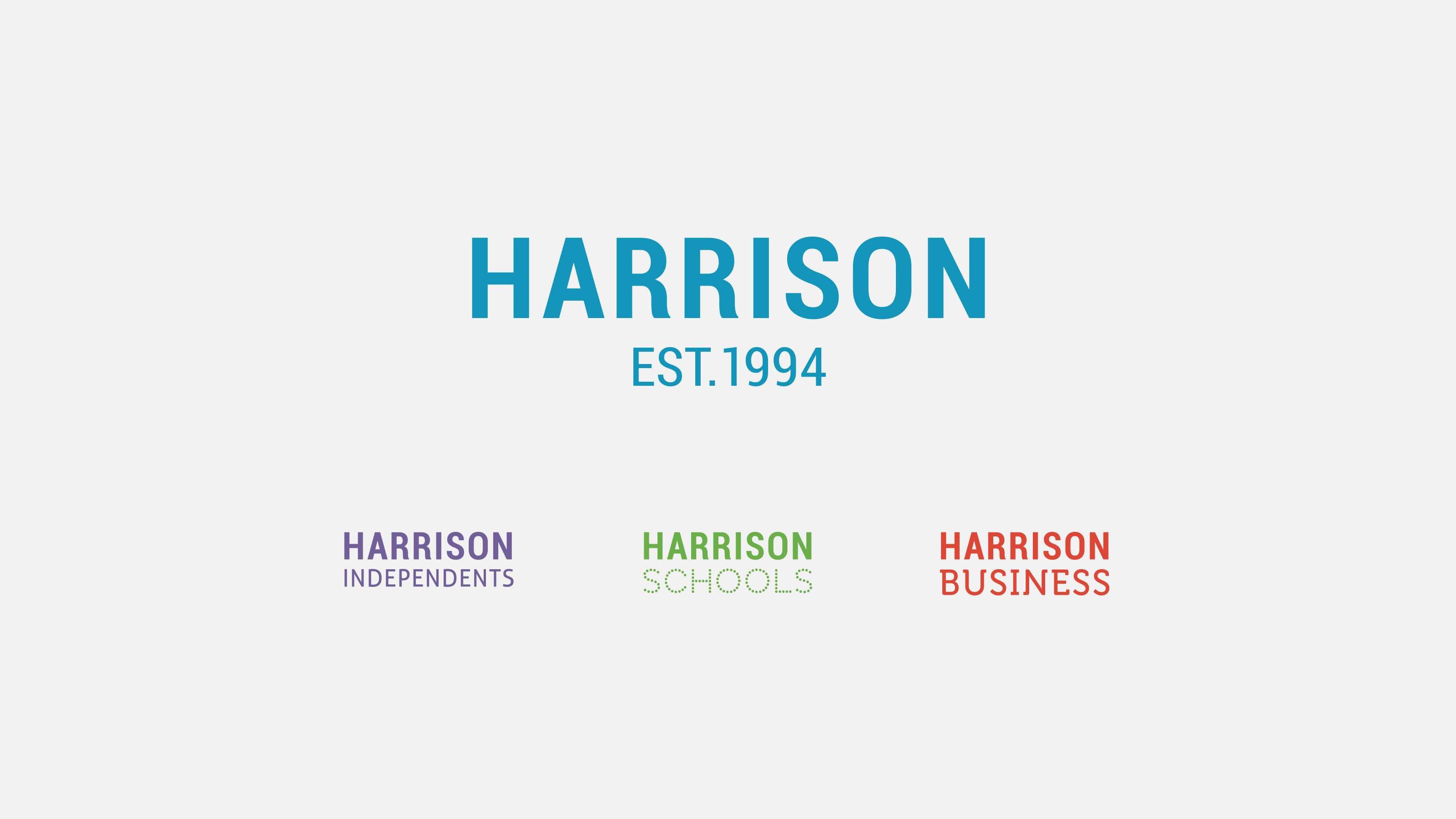 Harrison Brand logo typography