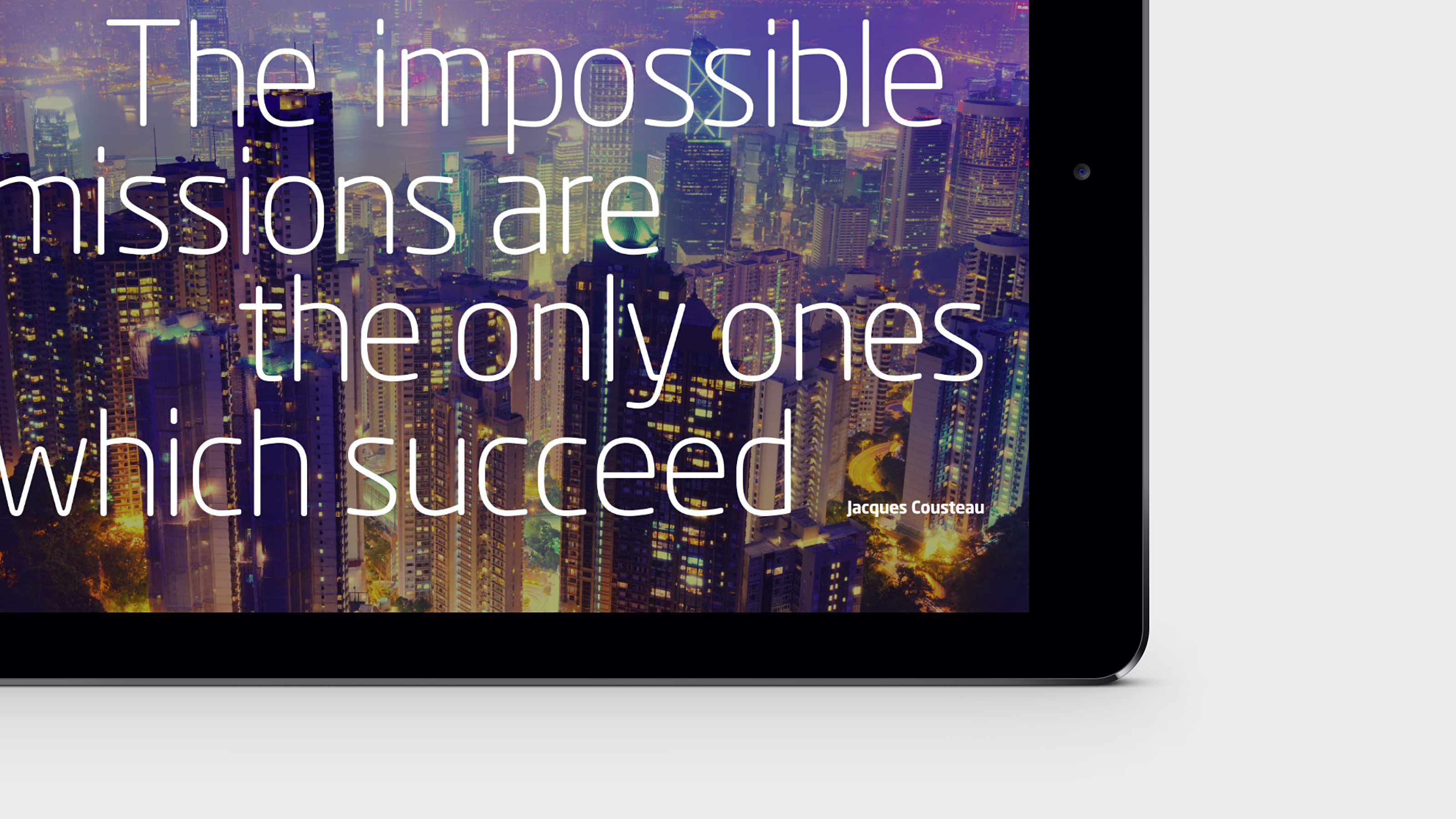 marketing tablet quote Arkadin