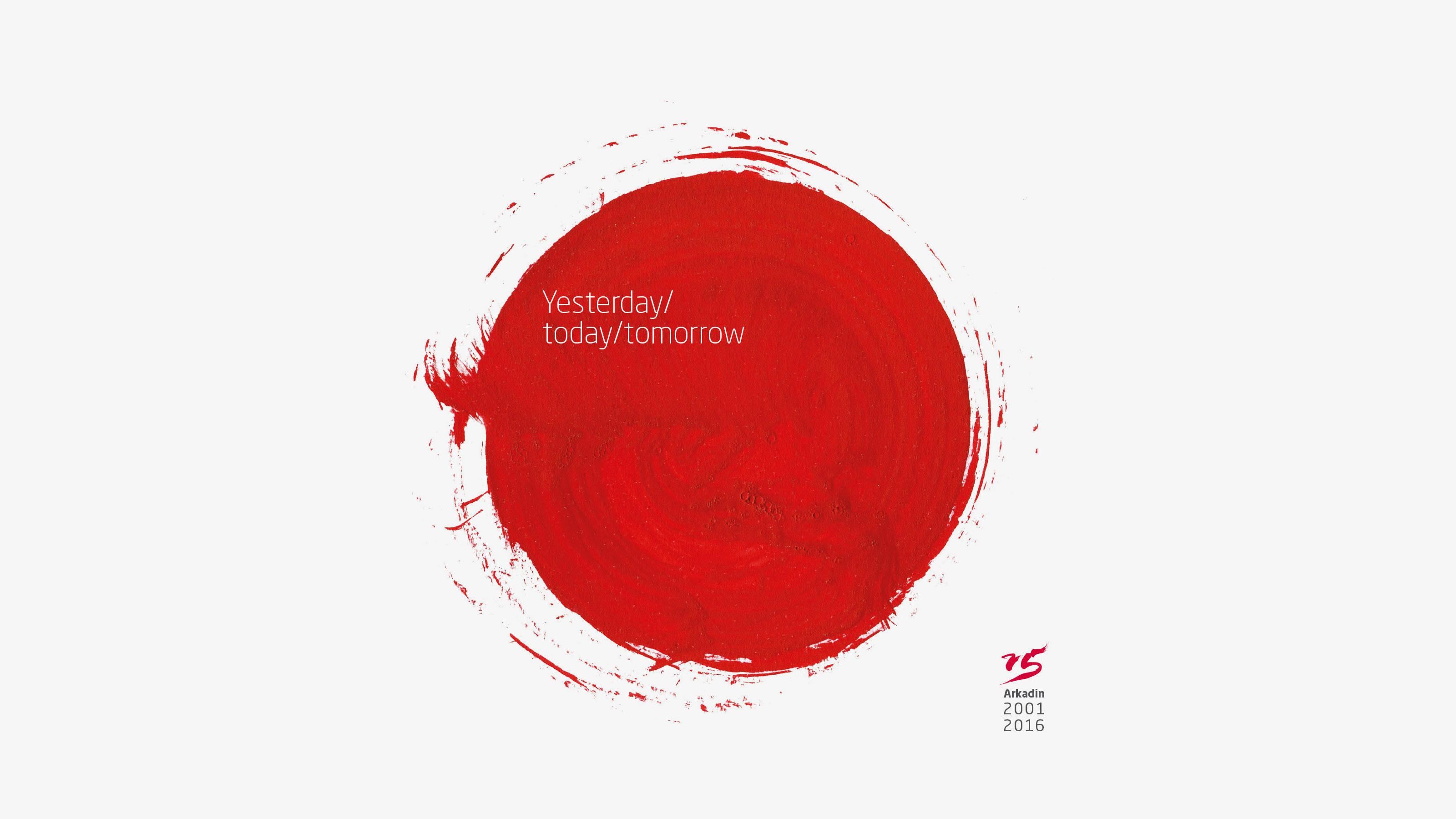 Marketing red circle Arkadin