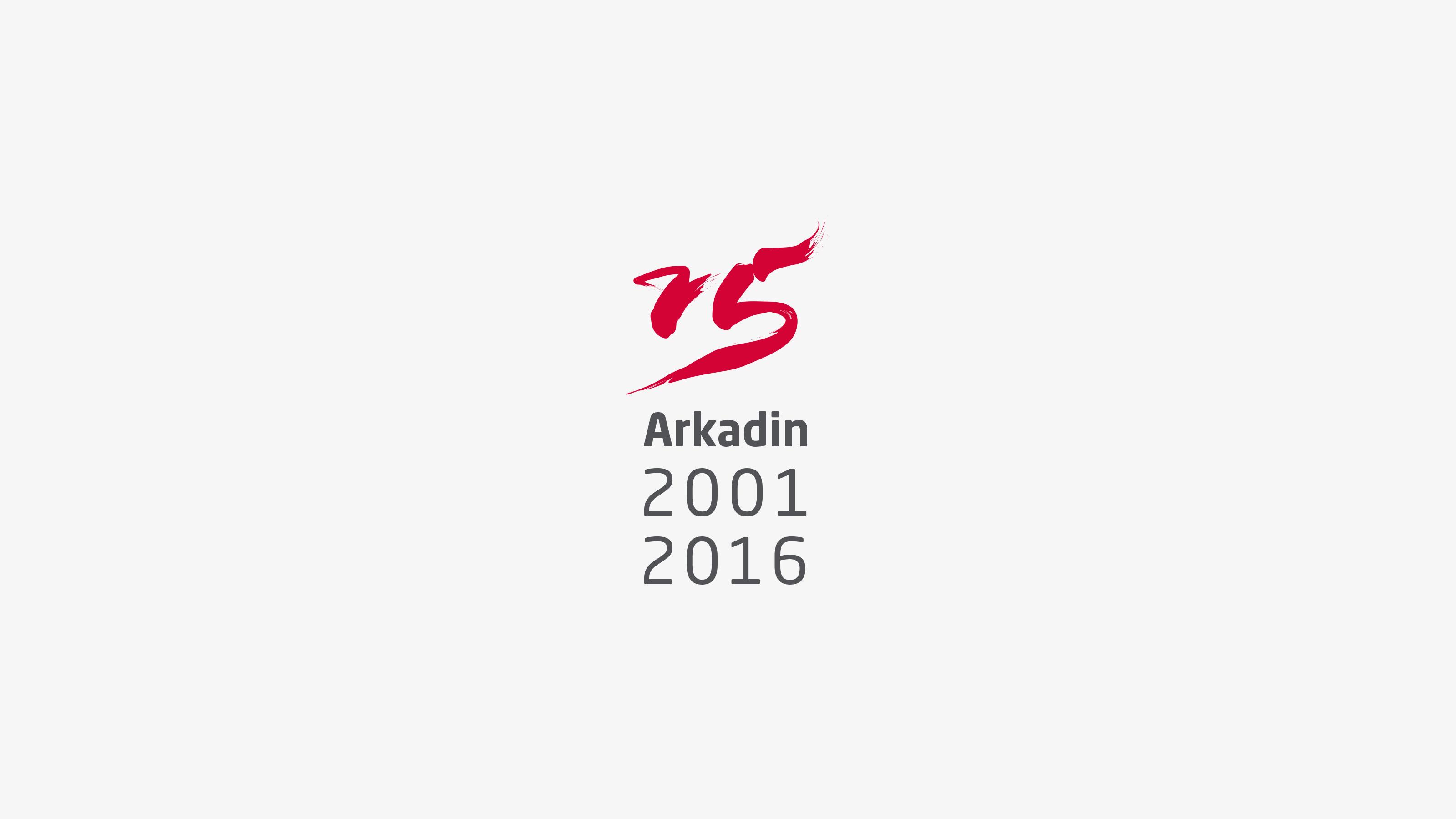 Marketing 15 years logo Arkadin