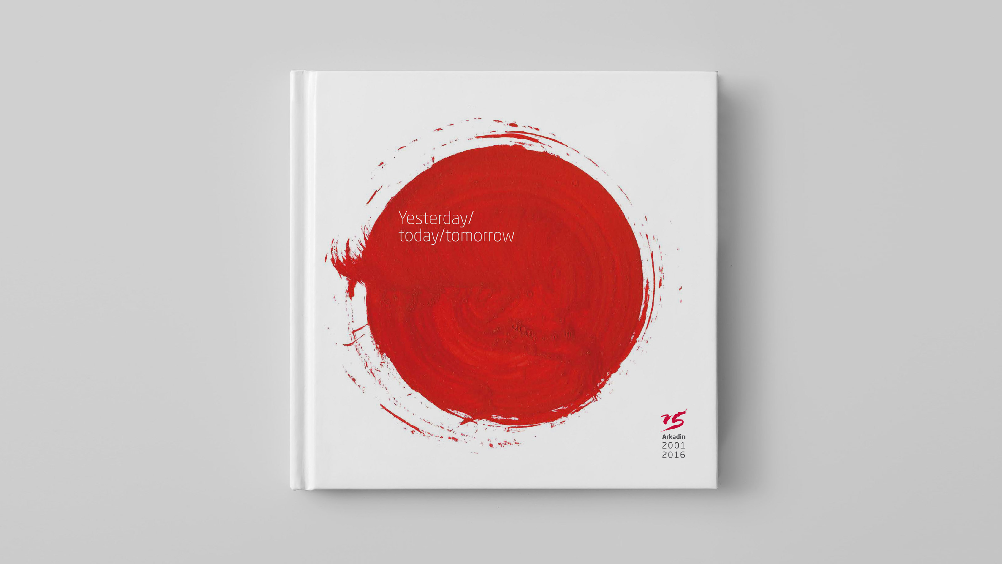 marketing book cover red circle Arkadin