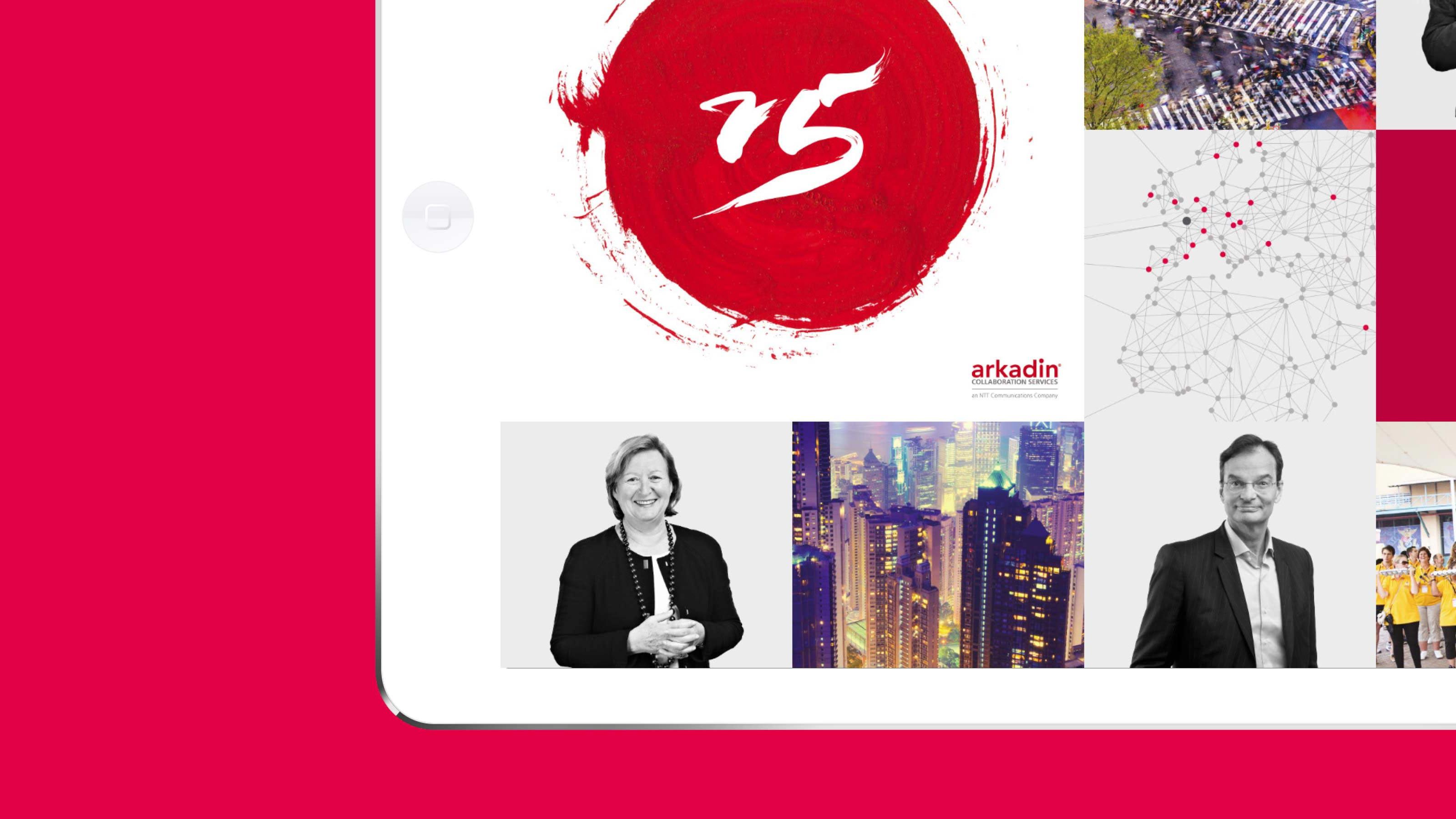 Marketing images layout Arkadin