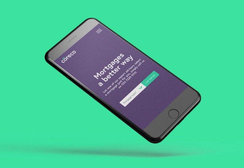 Coreco Digital mobile screen