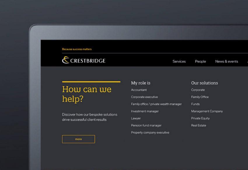 web laptop screen crestbridge