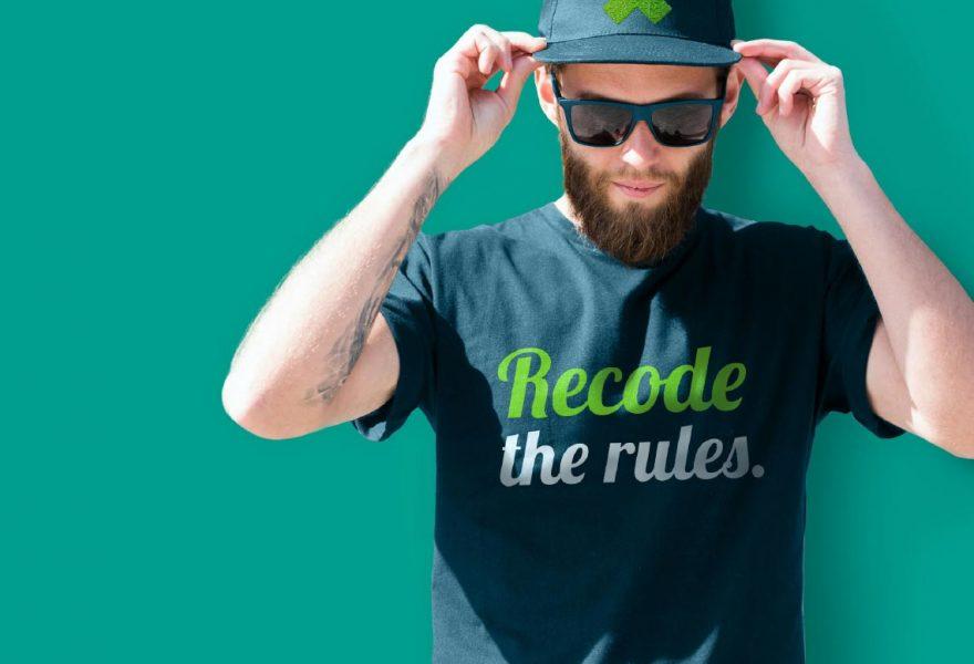 Exasol Marketing t shirt hat