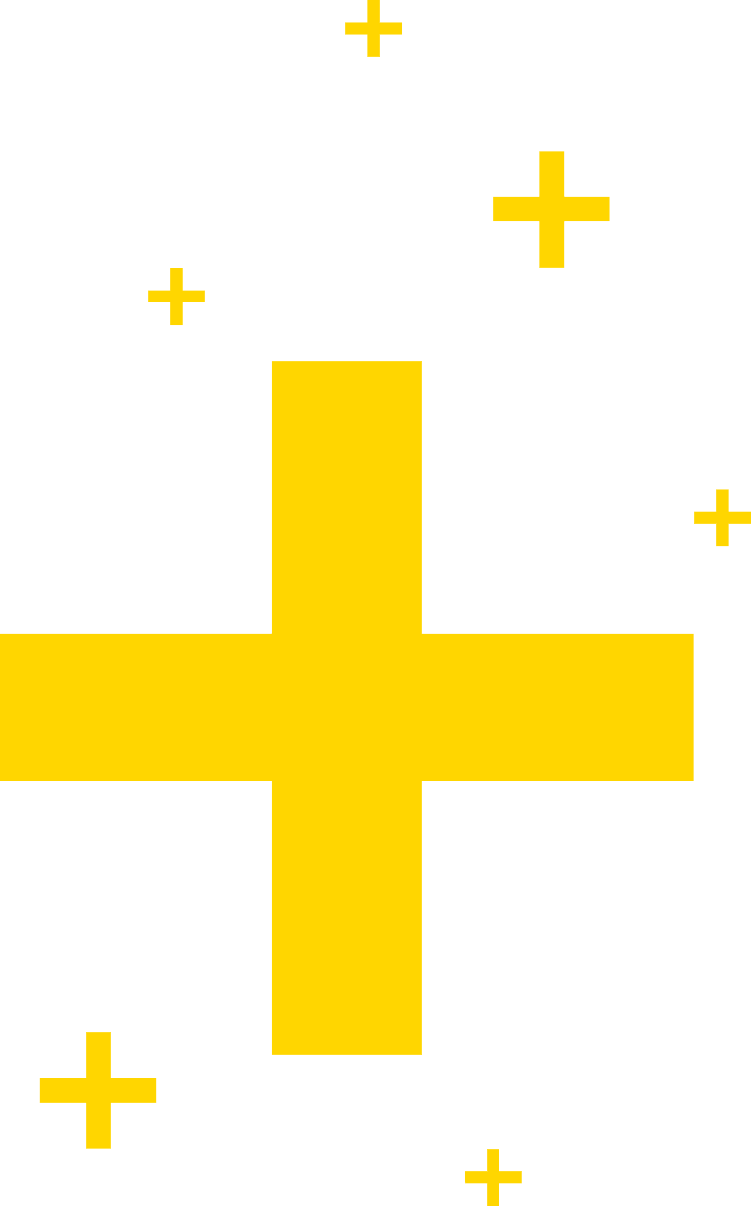Forsters Brand Yellow Crosses