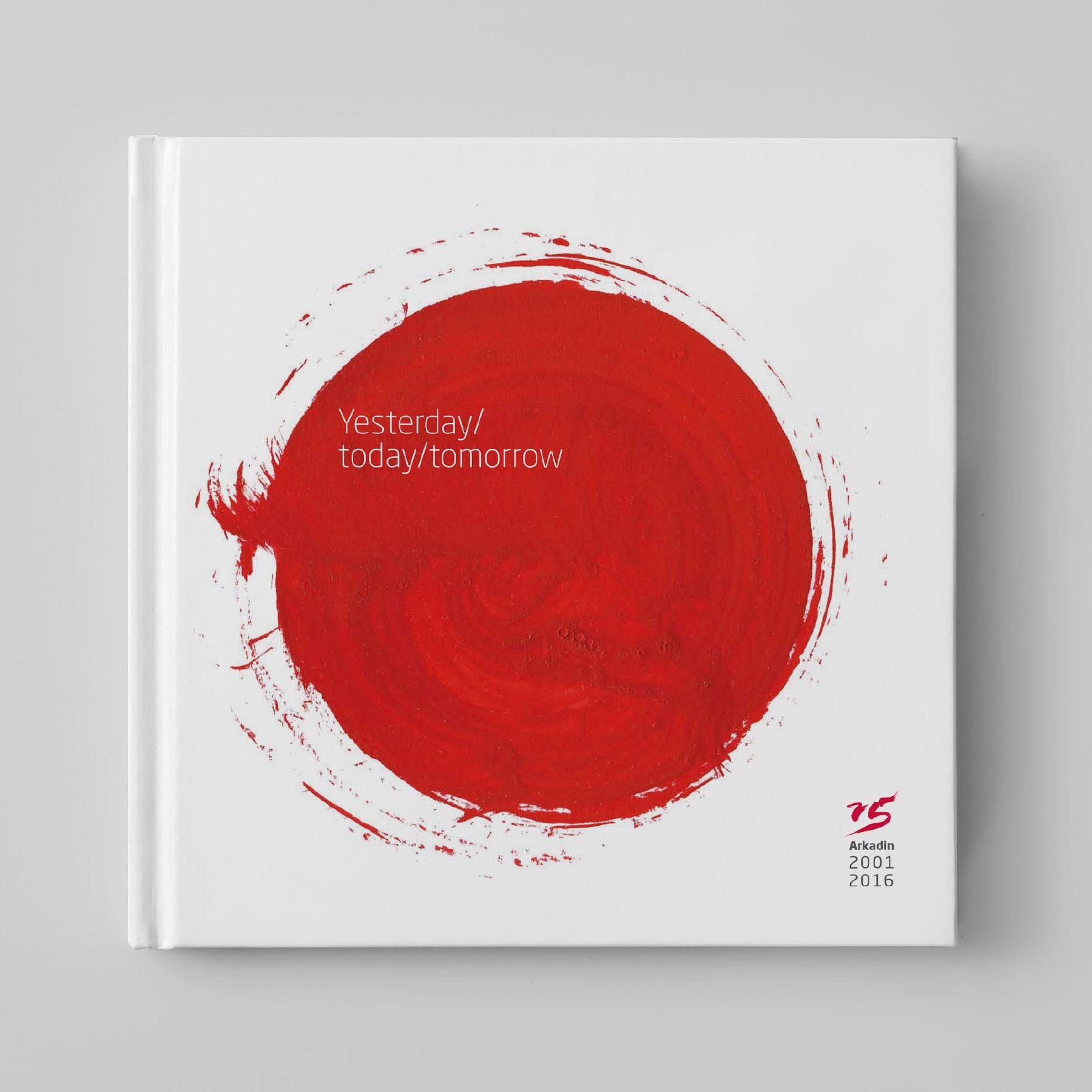 marketing book cover design arkadin