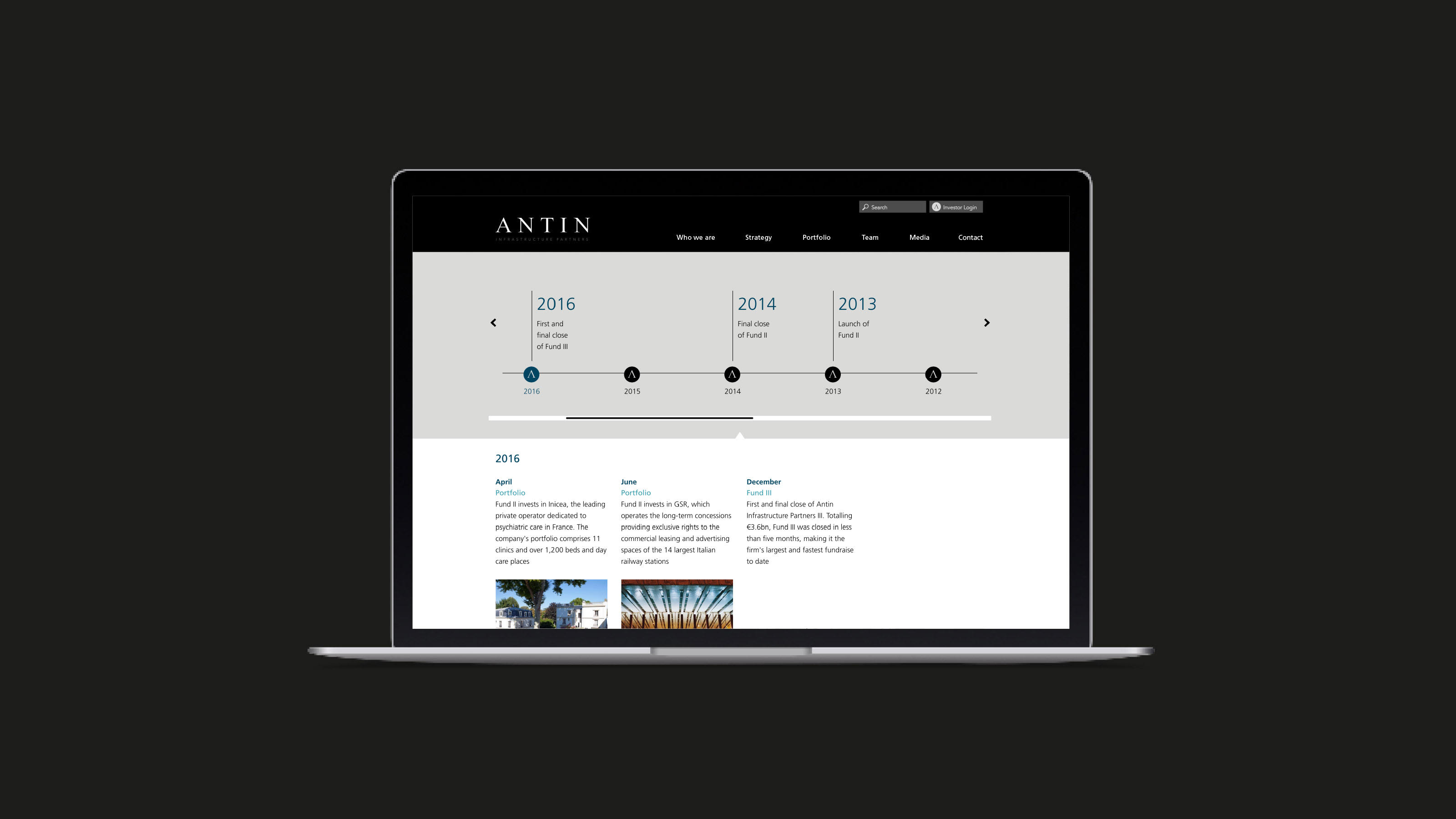 Antin digital desktop design