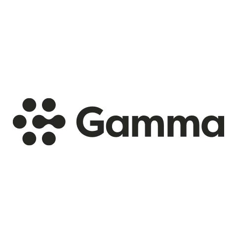 Gamma logo in black