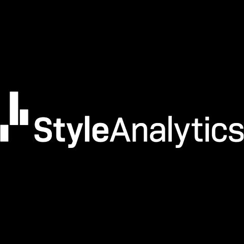 Style Analytics logo in white