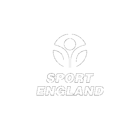 Sport England logo in white