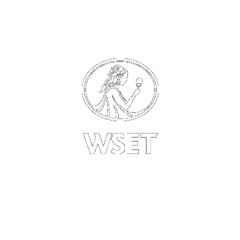 WSET logo in white