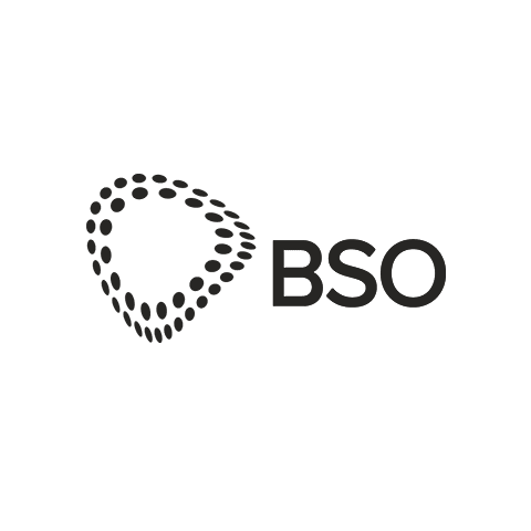 BSO logo in black