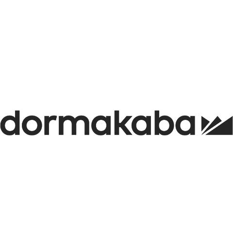 Dormakaba logo in black