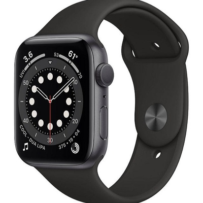 Apple Watch Series 6 insurance for a black watch