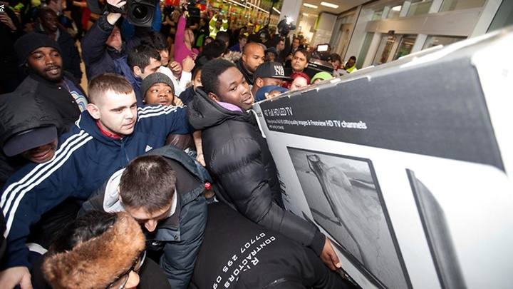 The first Black Friday in the UK