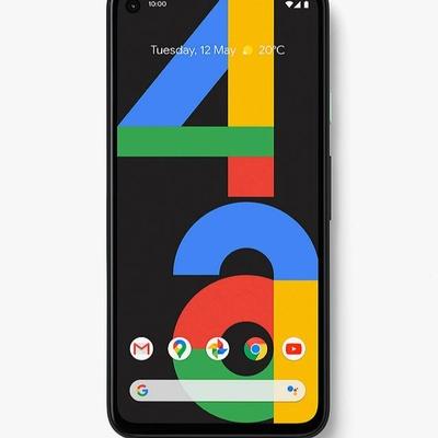Google PIxel 4a insurance black phone