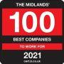 Best Companies The Midlands Top 100 2021