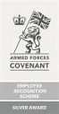 Defence Employer Recognition Scheme  Silver
