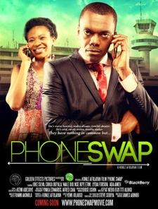 Phone Swap Poster