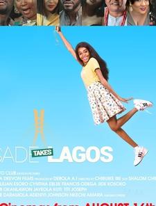Sade Takes Lagos Poster