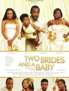 Two Brides and a Baby Poster