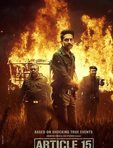Article 15 (Hindi) Poster