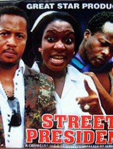 Street President Poster