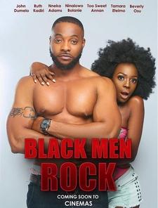 Black Men Rock Poster