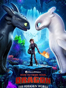How to Train Your Dragon: Hidden World Poster