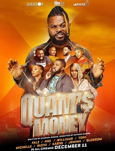 Quam's Money Poster
