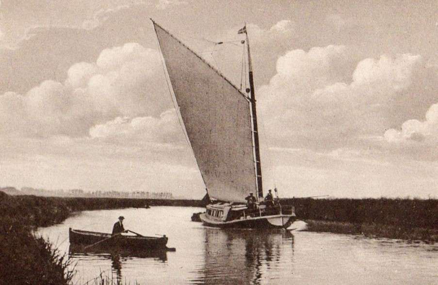 Beccles, River Waveney & Wherry.jpg