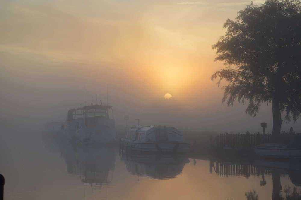 Early Misty Morning at Potter Heigham.JPG