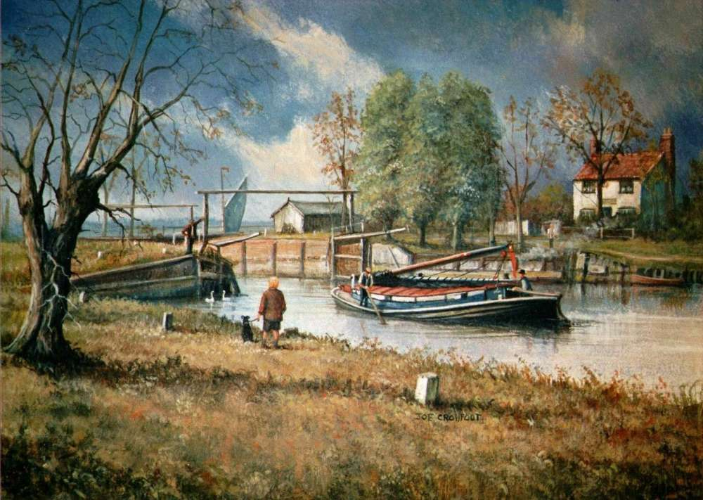 Geldeston Locks Inn Joe Crowfoot.JPG