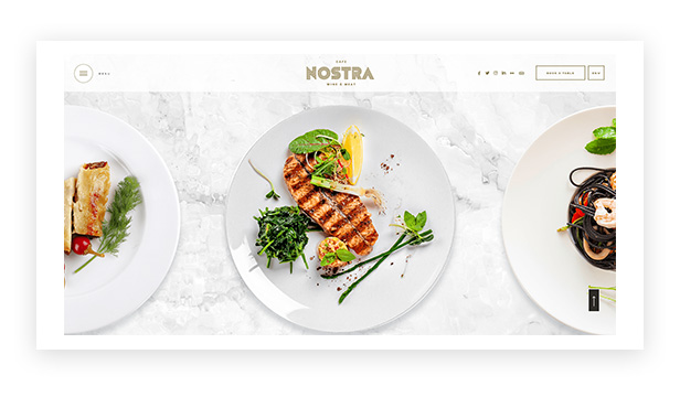 nostra - an elegant cafe & restaurant wordpress theme (restaurants & cafes) Nostra – An Elegant Cafe & Restaurant WordPress Theme (Restaurants & Cafes) 7