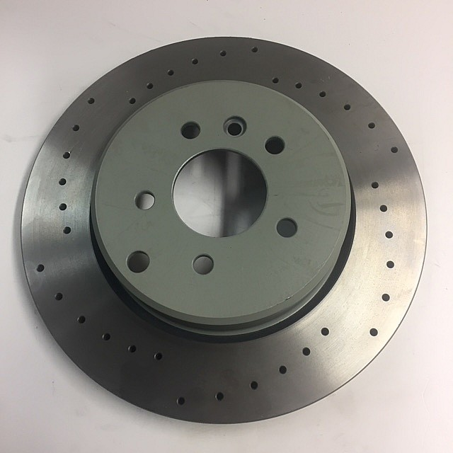 Brake Disc, rear, cross-drilled, L/H image