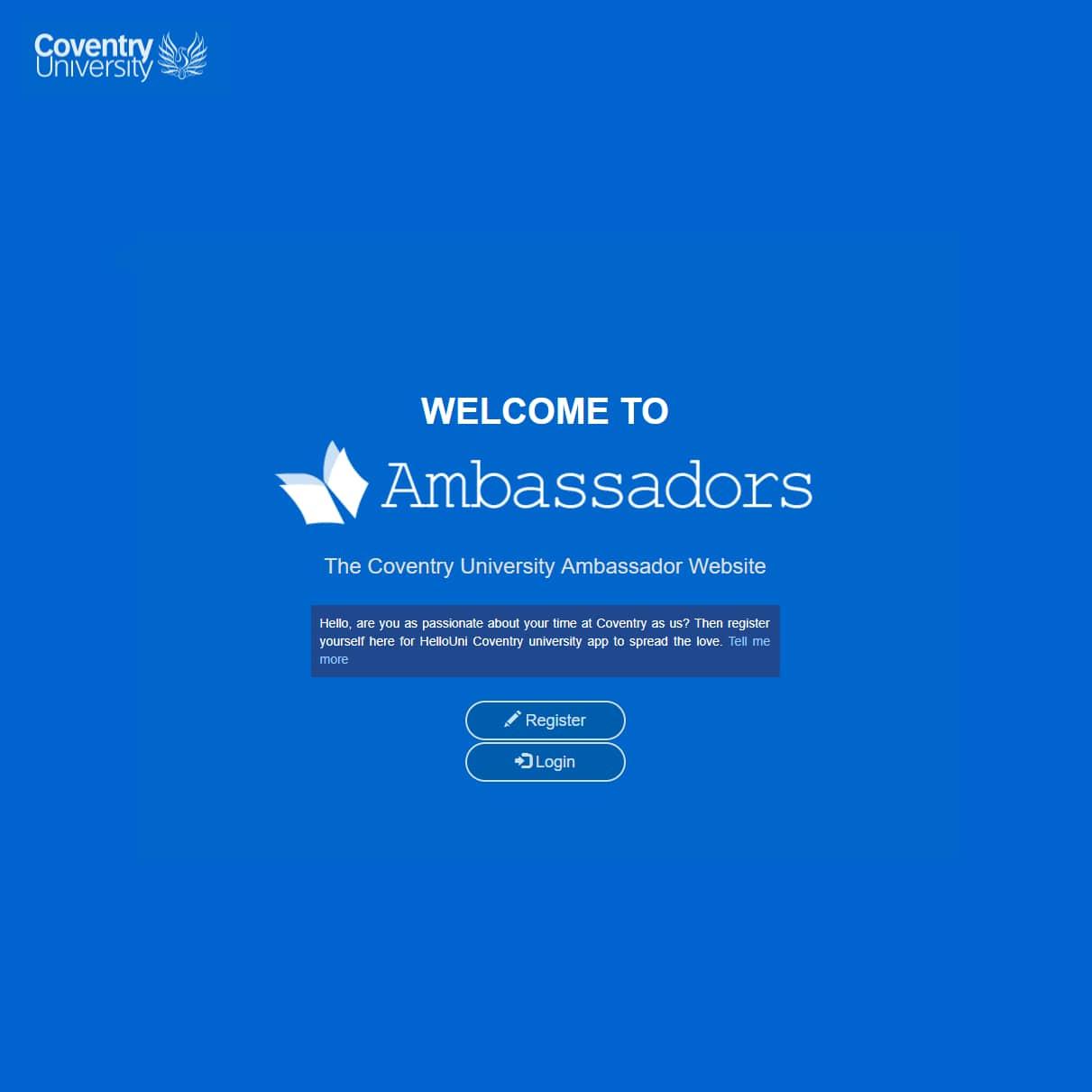 HelloCoventry Ambassadors